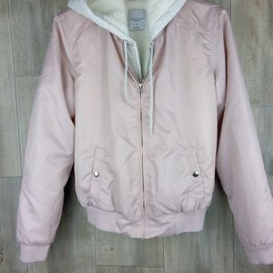 Angel Kiss Los Angeleos Utility Jacket pink size M